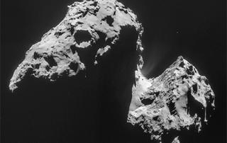 На комете Чурюмова-Герасименко нашли погоду...