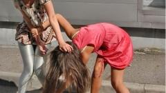 Միջադեպ Երեւանում. գիշերը բանկի դիմաց կանայք ծեծել են իրար, մեկին գցել գետնին ու քաշել մազերից...