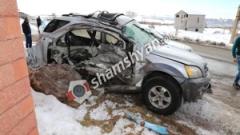 Խոշոր ավտովթար Կոտայքի մարզում. բախվել են 28-ամյա վարորդի Kia-ն ու 41-ամյա վարորդի КАМАЗ-ը