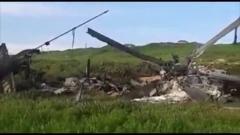 Пострадавшего вертолета МИ-24, Азербайджан