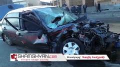 Խոշոր ավտովթար Երևանում. բախվել են Mitsubishi-ն, Porsche Cayenne-ն ու Mercedes GLE-ն