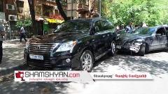 Երևանում ճիվաղը կողոպուտ է կատարել «Գաֆրի» ոսկու սրահում. փախնելիս էլ վնասել է ավտոմեքենաներ