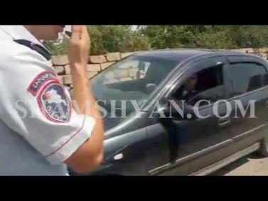 Ոստիկանները գողերին և գողոնը հայտնաբերեցին մի քանի կմ հետապնդելուց հետո