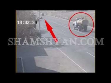 Խոշոր ու ողբերգական ավտովթար Երևանում. BMW-ն դուրս է եկել հանդիպակաց և հայտնվել բեռնատար ЗИЛ-ի տակ