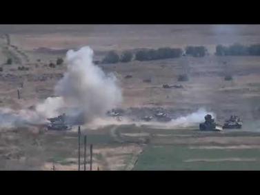 Հայկական զինուժը շարունակում է խոցել ադրբեջանական մարտական տեխնիկաները